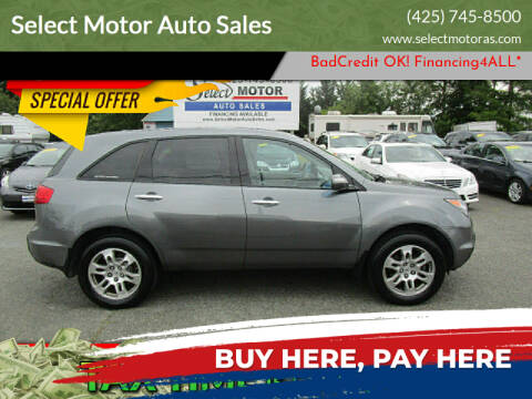 2009 Acura MDX for sale at Select Motor Auto Sales in Lynnwood WA