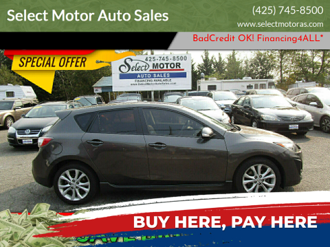 2010 Mazda MAZDA3 for sale at Select Motor Auto Sales in Lynnwood WA