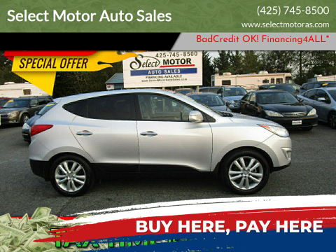2013 Hyundai Tucson for sale at Select Motor Auto Sales in Lynnwood WA