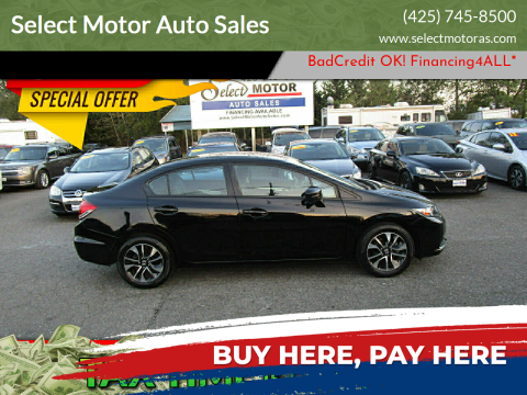 2014 Honda Civic for sale at Select Motor Auto Sales in Lynnwood WA