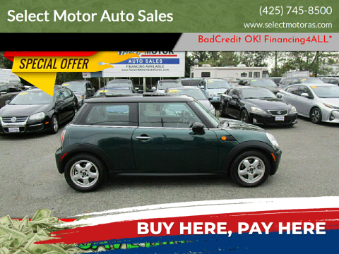 2008 MINI Cooper for sale at Select Motor Auto Sales in Lynnwood WA