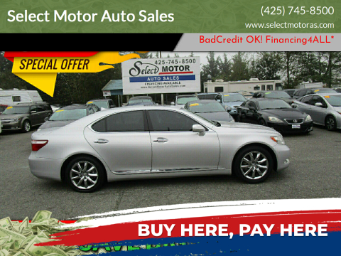 2008 Lexus LS 460 for sale at Select Motor Auto Sales in Lynnwood WA