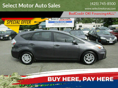 2013 Toyota Prius v for sale at Select Motor Auto Sales in Lynnwood WA