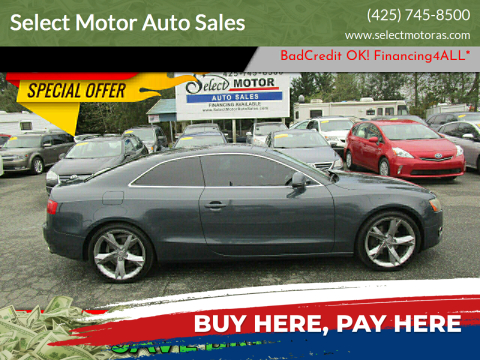 2009 Audi A5 for sale at Select Motor Auto Sales in Lynnwood WA