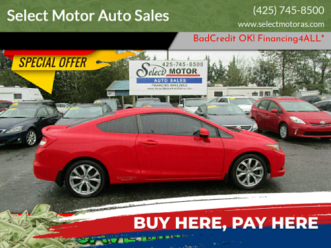2012 Honda Civic for sale at Select Motor Auto Sales in Lynnwood WA