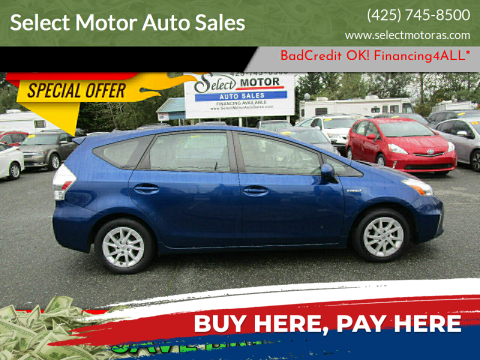 2014 Toyota Prius v for sale at Select Motor Auto Sales in Lynnwood WA