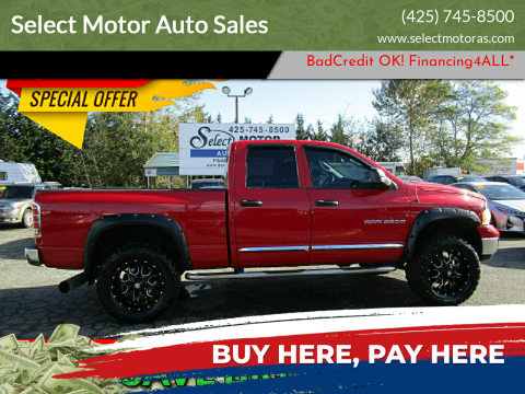 2004 Dodge Ram Pickup 2500 for sale at Select Motor Auto Sales in Lynnwood WA