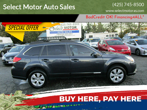 2011 Subaru Outback for sale at Select Motor Auto Sales in Lynnwood WA