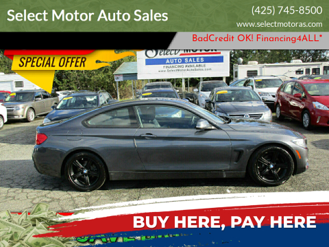 2015 BMW 4 Series for sale at Select Motor Auto Sales in Lynnwood WA