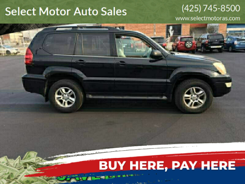 2004 Lexus GX 470 for sale at Select Motor Auto Sales in Lynnwood WA