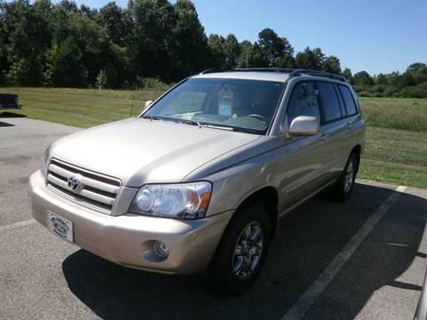 2005 Toyota Highlander for sale in Keysville VA
