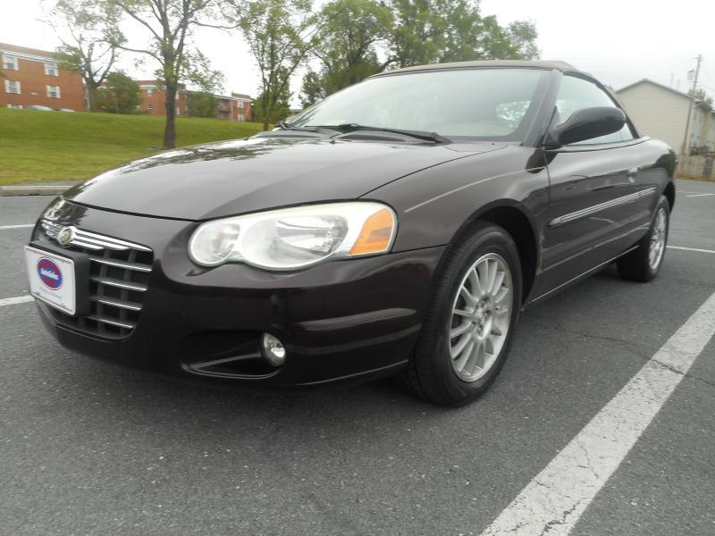 2004 Chrysler Sebring for sale at Gasoline Alley Auto Sales in Winchester VA