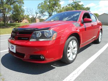 2012 Dodge Avenger for sale at Gasoline Alley Auto Sales in Winchester VA