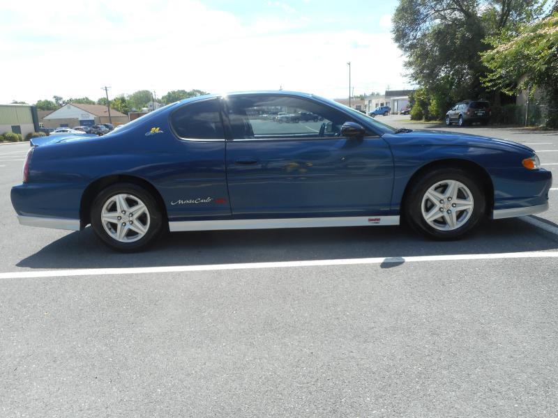2003 Chevrolet Monte Carlo for sale at Gasoline Alley Auto Sales in Winchester VA