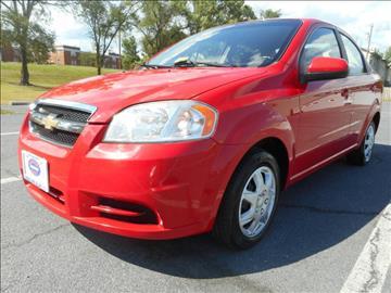 2010 Chevrolet Aveo for sale at Gasoline Alley Auto Sales in Winchester VA