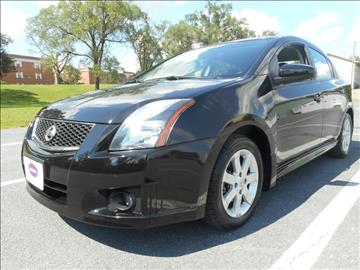 2012 Nissan Sentra for sale at Gasoline Alley Auto Sales in Winchester VA