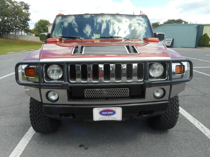 2003 HUMMER H2 for sale at Gasoline Alley Auto Sales in Winchester VA