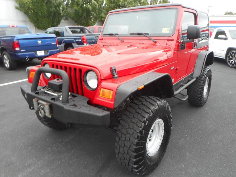 2004 Jeep Wrangler For Sale At Gasoline Alley Auto Sales In Winchester VA