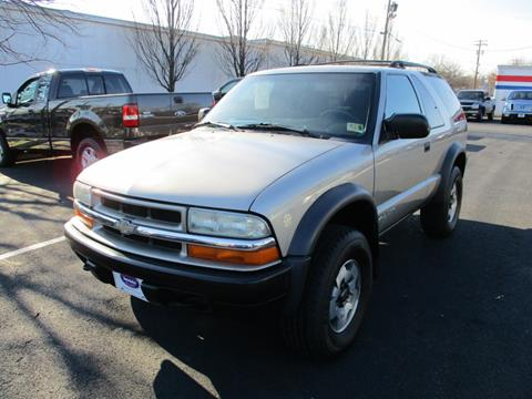 Chevrolet Blazer For Sale In Winchester Va Gasoline Alley Auto Sales