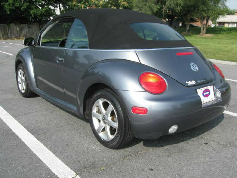 2005 Volkswagen New Beetle for sale at Gasoline Alley Auto Sales in Winchester VA