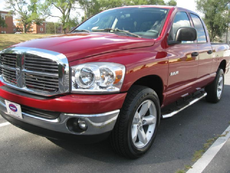 2008 Dodge Ram Pickup 1500 for sale at Gasoline Alley Auto Sales in Winchester VA