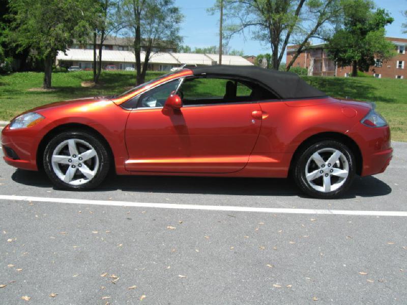 2009 Mitsubishi Eclipse Spyder for sale at Gasoline Alley Auto Sales in Winchester VA