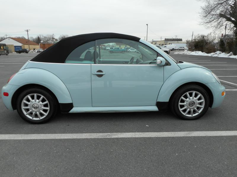 2004 Volkswagen New Beetle for sale at Gasoline Alley Auto Sales in Winchester VA