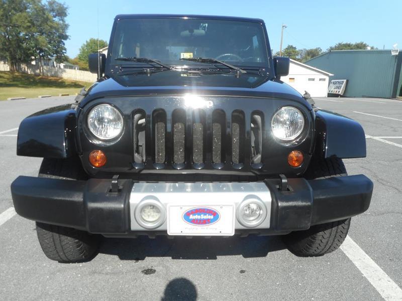 2008 Jeep Wrangler Unlimited for sale at Gasoline Alley Auto Sales in Winchester VA