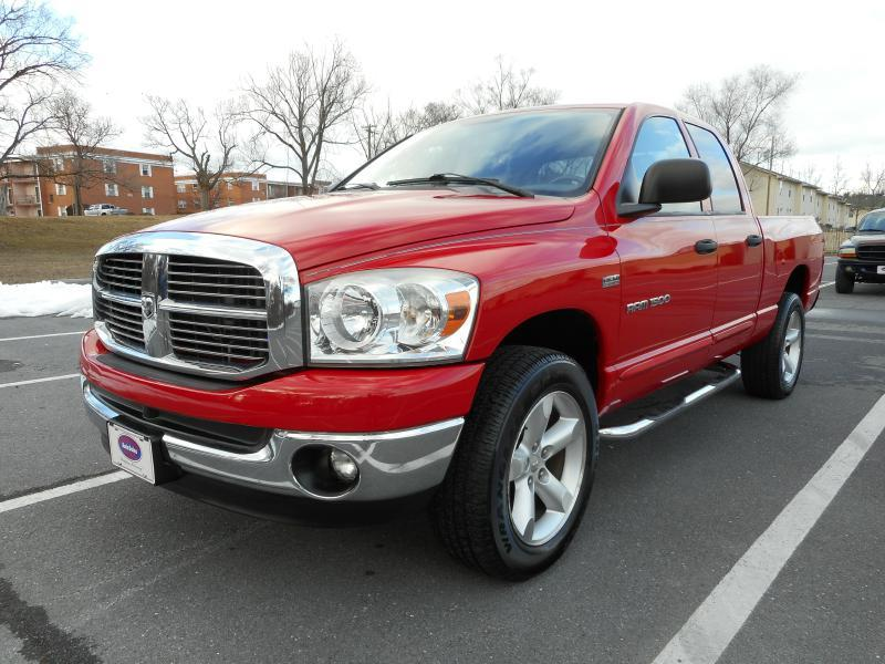 2007 Dodge Ram Pickup 1500 for sale at Gasoline Alley Auto Sales in Winchester VA