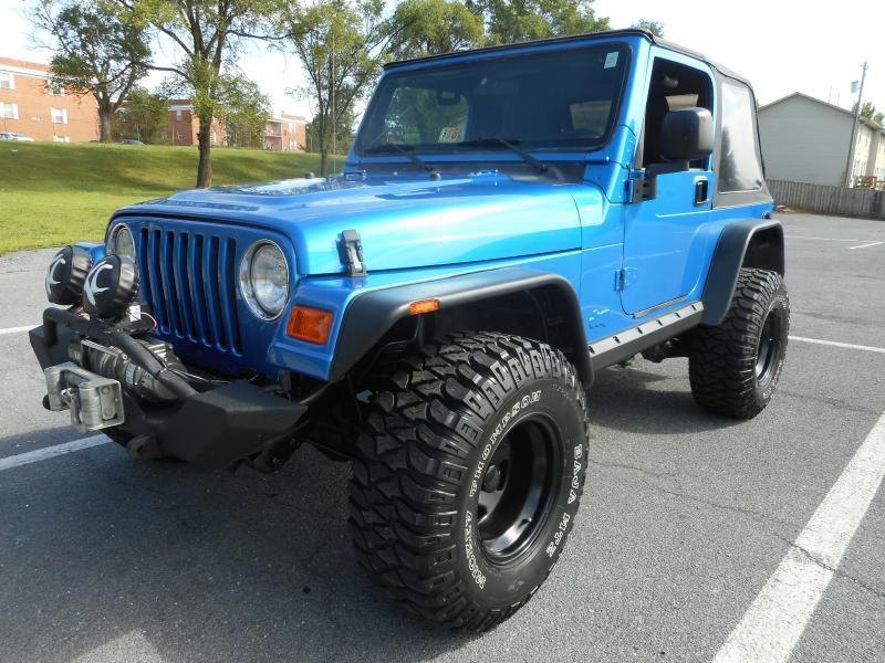 2003 Jeep Wrangler for sale at Gasoline Alley Auto Sales in Winchester VA