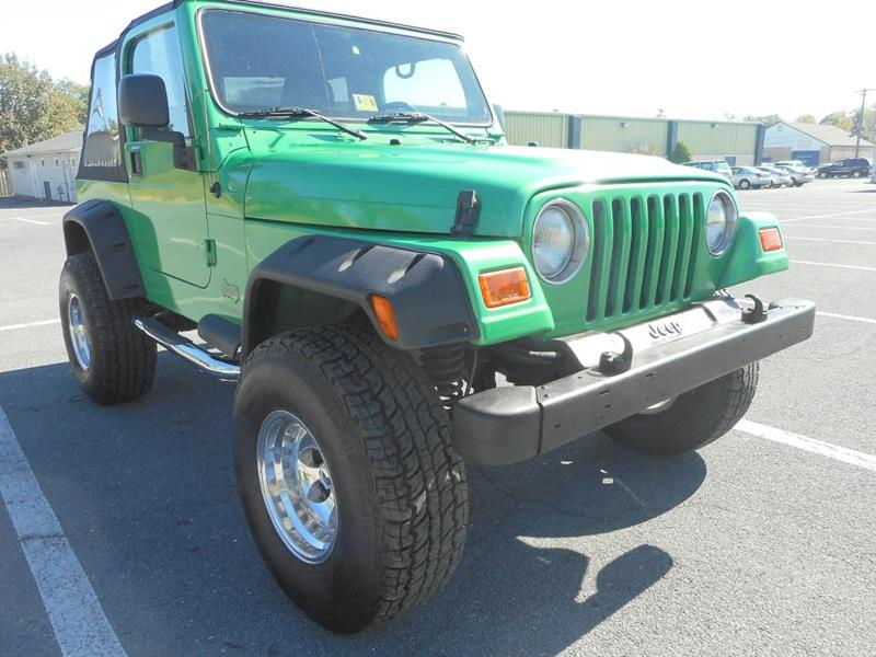 2005 Jeep Wrangler for sale at Gasoline Alley Auto Sales in Winchester VA