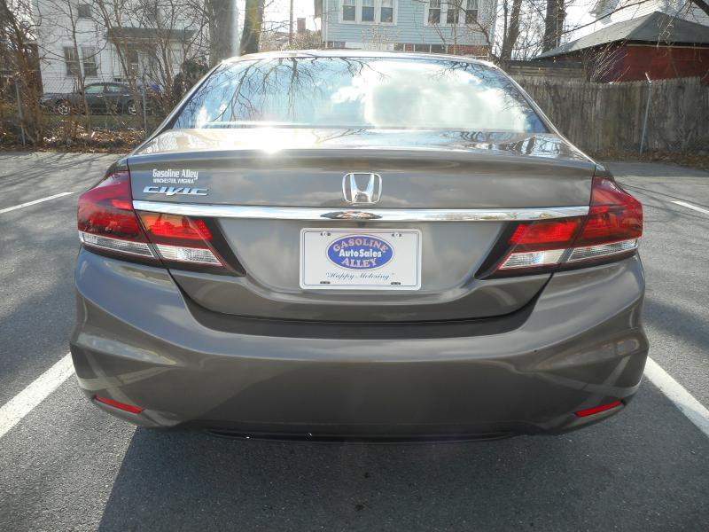 2013 Honda Civic for sale at Gasoline Alley Auto Sales in Winchester VA