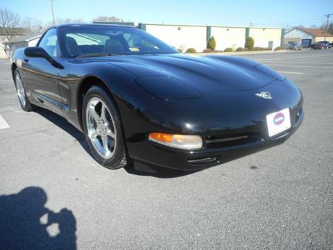 2003 Chevrolet Corvette for sale at Gasoline Alley Auto Sales in Winchester VA