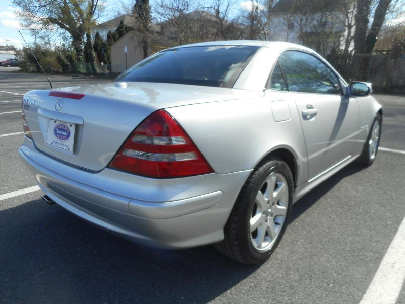 2003 Mercedes-Benz SLK for sale at Gasoline Alley Auto Sales in Winchester VA