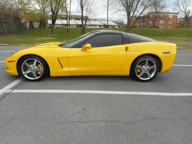 2007 Chevrolet Corvette for sale at Gasoline Alley Auto Sales in Winchester VA