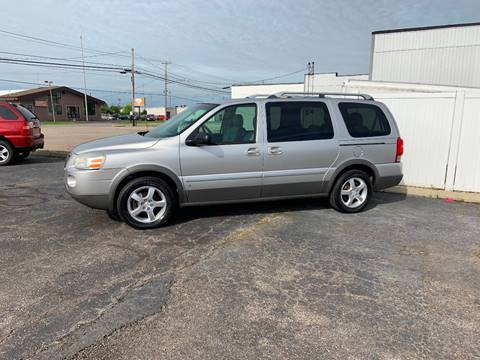 2006 Pontiac Montana SV6 for sale in Defiance, OH