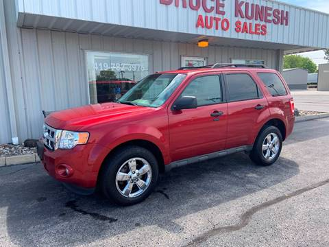 2012 Ford Escape for sale in Defiance, OH