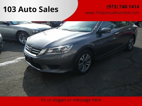 2015 Honda Accord for sale at 103 Auto Sales in Bloomfield NJ