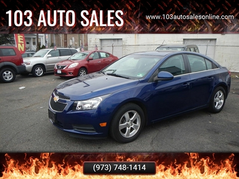 2013 Chevrolet Cruze for sale at 103 Auto Sales in Bloomfield NJ
