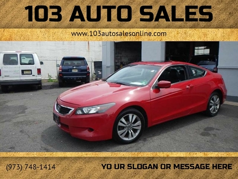2010 Honda Accord for sale at 103 Auto Sales in Bloomfield NJ