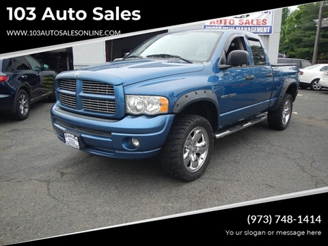2005 Dodge Ram Pickup 1500 for sale at 103 Auto Sales in Bloomfield NJ