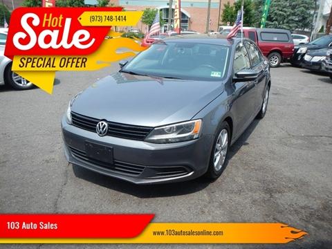 2012 Volkswagen Jetta for sale at 103 Auto Sales in Bloomfield NJ
