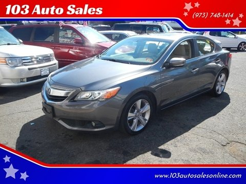 2013 Acura ILX for sale at 103 Auto Sales in Bloomfield NJ