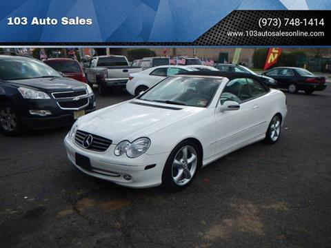 2005 Mercedes-Benz CLK for sale at 103 Auto Sales in Bloomfield NJ