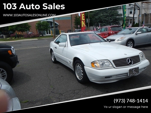 1998 Mercedes-Benz SL-Class for sale at 103 Auto Sales in Bloomfield NJ