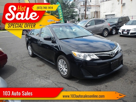 2013 Toyota Camry for sale at 103 Auto Sales in Bloomfield NJ