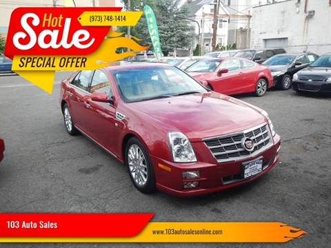 2011 Cadillac STS for sale at 103 Auto Sales in Bloomfield NJ