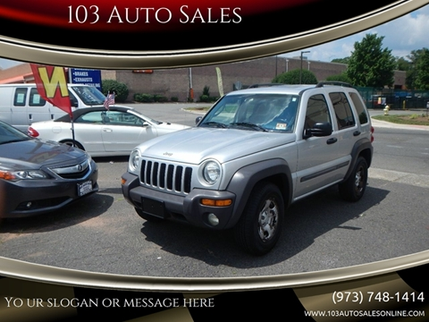 2003 Jeep Liberty for sale at 103 Auto Sales in Bloomfield NJ