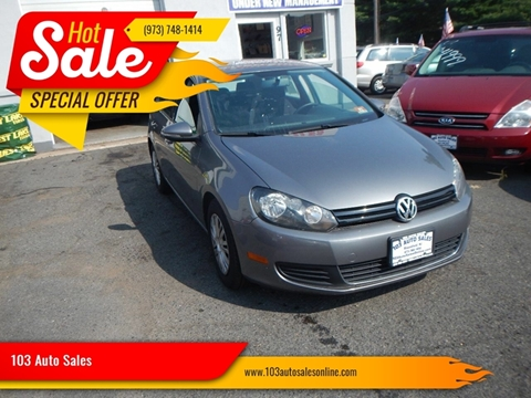 2012 Volkswagen Golf for sale at 103 Auto Sales in Bloomfield NJ