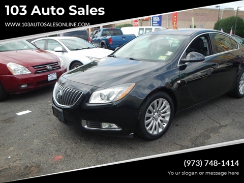 2011 Buick Regal for sale at 103 Auto Sales in Bloomfield NJ
